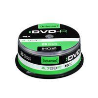 Intenso DVD-R 4.7GB, 16x, Tortenschachtel