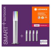LEDVANCE SMART+ LED GARDENPOLE BASIS Lichterkette RGBW ZigBee 1400 cm Aluminium Grau