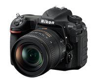 Nikon D500 + AF-S Nikkor 16-80mm, 20,9 MP, 5568 x 3712 Pixel, CMOS, 5x, 4K Ultra HD, Schwarz