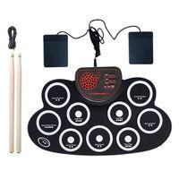1 Set Roll-up Drum Kit