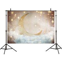 Mond&Stern Hintergrund Fotografie Fotostudio Fotohintergrund 270x180cm
