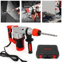 Multifunktional Elektrisch Bohrhammer 2200W Bohrmaschine Schlagbohrmaschine  Hochleistungs-Elektrohammer mit 30 Zylindern und einfachem Bohrersatz