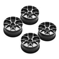 1:10 rc drift automodelle 52mm felge hub hex für sakura d4 d3 xi cs schwarz Farbe Schwarz