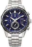 Citizen Herren Chronograph Solar Quarz Funkuhr Eco-Drive Super Titanium Saphirglas - AT8218-81L