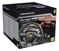 Thrustmaster Ferrari 458 Italia - Lenkrad- und Pedale-Set - verkabelt - für PC, Microsoft Xbox 360
