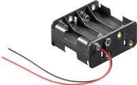 8x AA (Mignon) Batteriehalter
