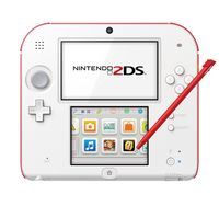 Nintendo 2DS Konsole weiss rot Limited Edition inkl. Tomodachi Life