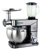 10 Liter Küchenmaschine 2500 W Max. 3 in 1 Rührmaschine Knetmaschine Teigkneter Fleischwolf Planetarisches Rührsystem