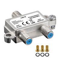 Digitale Vorrang Schalter verteilt schaltet 1 LNB auf 2-SAT Receiver Switch FULL HD 4K