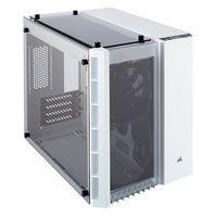 Corsair Crystal 280X - Micro-Tower - PC - Stahl - Gehärtetes Glas - Weiß - ATX - Gaming
