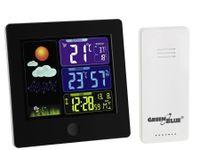 GreenBlue 43493 - Schwarz - Innen-Hygrometer - Innen-Thermometer - Außen-Hygrometer - Außen-Thermometer - Hygrometer,Thermometer - Hygrometer,Thermometer - 20 - 95% - 20 - 95%