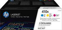 HP 410X - 5000 Seiten - Cyan - Magenta - Gelb - 3 Stück(e)