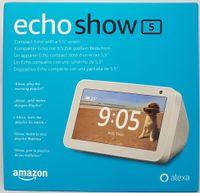 Amazon Echo Show 5, Alexa, Smarthome, Sprachsteuerung, weiß, generalüberholt
