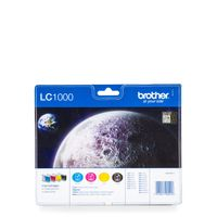 Brother LC-1000 Value Pack BK/C/M/Y