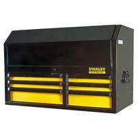 STANLEY FatMax Aufsatz FMHT0-74028 mit 6 Schubladen, verschließbar - für Werkstattwagen FatMax inklusive 2 Schlüssel und 7 rutschhemmenden Matten