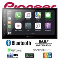 PIONEER SPH-DA160DAB Digitalradio CarPlay Android Auto USB inkl Antenne