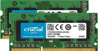 Crucial Arbeitsspeicher 16GB DDR3 1600 MT/s Kit 8GBx2 SODIMM 204pin CL11
