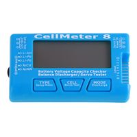 LCD Digital Batterie Kapazität Checker CellMeter RC CellMeter 8 Spannung Tester