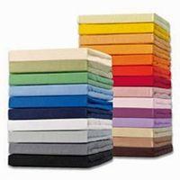 Schlafgut Spannbetttuch 15001-BASIC, 90/190-100/200cm, Mako-Jersey, Farben:011-weiss