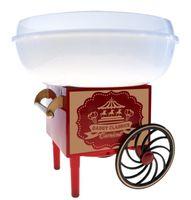 Gadgy ® Zuckerwattemaschine für Zuhause | Baumwolle Candy Machine | für Zucker oder Harte Süßigkeiten | Zuckerwattegerät für Kindergeburtstag | Rot Weiß