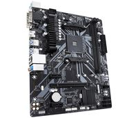 Gigabyte B450M S2H (rev. 1.0) - AMD - Buchse AM4 - AMD Ryzen - DDR4-SDRAM - DIMM - 2133,2400,2667,2933,3200 MHz