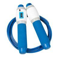 verstellbares Training Springseil Springseil für Frauen Männer Kinder blau wie beschrieben