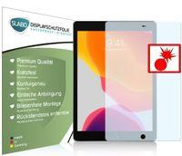 "2x Slabo Panzerschutzfolie für iPad 10.2 iPad 10.2 (7. Generation | 2019) | iPad 10.2 (8. Generation | 2020) Wi-Fi + Cellular KLAR ""Shockproof"" Displayfolie Schutzfolie Folie"