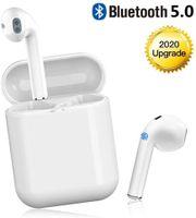Bluetooth 5.0-Ohrhörer, kabellose Kopfhörer, kabellose Ohrhörer, integriertes Mikrofon und Ladetasche, 3D-HD-Stereo-Rauschunterdrückung für Apple Airpods pro / Android / iPhone / Samsung-Kopfhörer