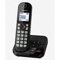 PANASONIC KX-TGC 460GB schwarz Schnurloses Telefon Anrufbeantworter Wecker