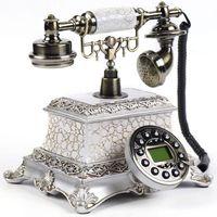 Antikes Telefon Alte Mode Nostalgie Telefon Retro Desktop Klassisch Telefon Für Hause,Büro,Sterne Hotel, Kunstgalerie
