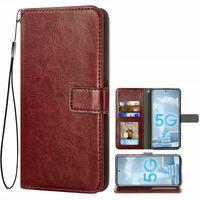 Handyhülle für Samsung A51-M40S/A71 5G, Hülle Premium Kunstleder TPU Klapphülle Magnetverschluss Kartenfach Standfunktion Geldbörse mit Trageband Schutzhülle