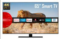 JVC LT-65VU8055 65 Zoll Fernseher (4K Ultra HD, HDR, Triple Tuner, Smart TV, Bluetooth, Works with Alexa) [Modelljahr 2020]
