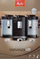 Melitta Caffeo Varianza CSP F570-101 Kaffeevollautomat mit Milchbehälter, Silber