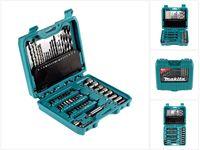 Makita P-90358 PRO Bit & Bohrer Set 60 teiliges Zubehör in praktischer Box