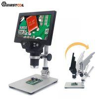 MUSTOOL G1200 Digitalmikroskop 12MP 7 Zoll Großer Farbbildschirm Großes Basis-LCD-Display 1-1200X kontinuierlich