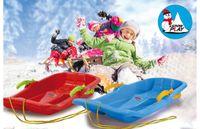 Jamara Snow Play Bob Karol mit Bremse 80cm blau