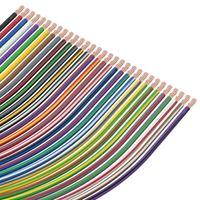 Fahrzeugleitung 0,75mm² FLRY-B Kfz Kabel Stromkabel Meterware rot - weiß 100 m auf Spule
