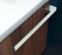 39x3x6,5cm Handtuchstange Massiv //Chrom glänzend PROKIRA® Handtuchhalter
