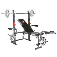 HAMMER Hantelbank Bermuda XT multifunktionale Fitness Trainings Bank ohne Gewichte