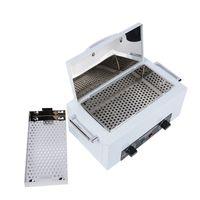 Heißluftsterilisator Instrumentenreiniger Desinfektion Sterilisator für Fußpflege Kosmetik Desinfek(mit Griff)
