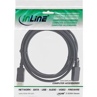 InLine® DisplayPort 1.4 Kabel, 8K4K, schwarz, vergoldete Kontakte, 3m
