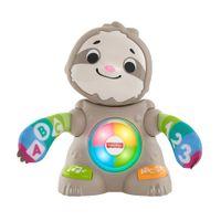 Fisher-Price BlinkiLinkis Faultier, Baby-Spielzeug mit Musik, Lernspielzeug