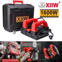 XIIW® XTB1600 Sanierungsfräse Betonschleifer Betonfräse Schleifer Putzfräse Mauerfräse 1600W Winkelschleifer Fräsmaschine