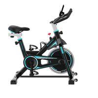CS08 Heimtrainer, Heimtrainer Fahrrad für zuhause,  Ergometer ideal für Heimtraining, Nutzergewicht 120 kg, Fitness Bike, Sicherheit