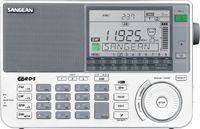 Sangean ATS-909X Radio, UKW/MW, RDS, Kopfhörer-Ausgang, Audio Line-In