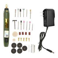 Mllaid Mini Drill Set Grinder Kit Electric Grinding Drilling Polishing Rotary Tool