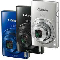 Canon IXUS 190 Essential-Kit Schwarz, Farbe:Silber