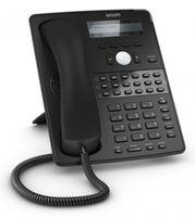 SNOM D725 VoIP Telefon (SIP), Gigabit, (ohne Netzteil), schwarz