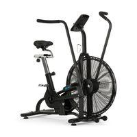 CAPITAL SPORTS Strike Bike - Heimtrainer , Cardiotrainer , Ventilationswiderstand , integrierter Trainingscomputer , Bluetooth , höhen- und tiefenverstellbar , Tablet-Halter , max.150 kg , schwarz