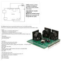 MIDI Shield Musical Breakout Board Instrument Digitale Schnittstelle MIDI-Adapterplatte Kompatibel mit Arduino Adapter Board-Modul